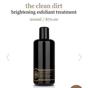 New May Lindstrom Clean Dirt.  Used once.